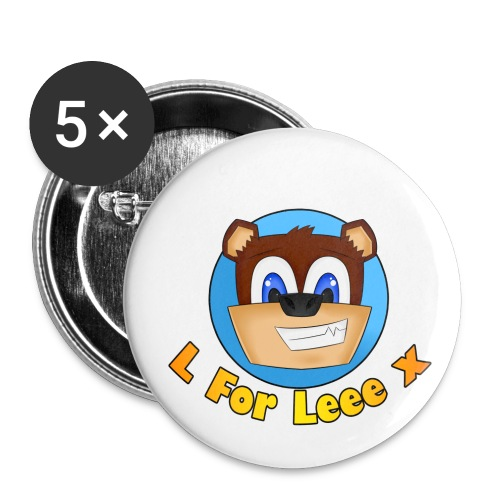 L for Leee x - Mouse Mat - Buttons large 2.2''/56 mm (5-pack)