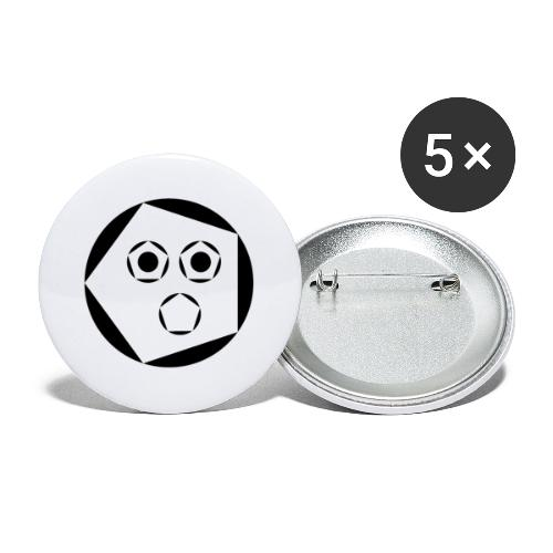 Jack 'Aapje' signatuur - Buttons groot 56 mm (5-pack)