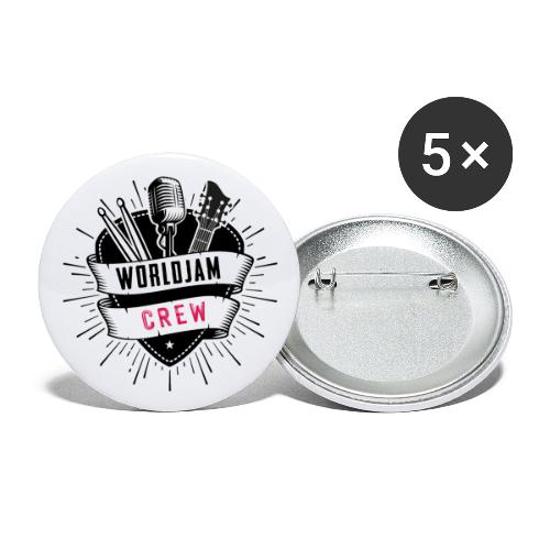 WorldJam Crew - Buttons large 2.2''/56 mm(5-pack)