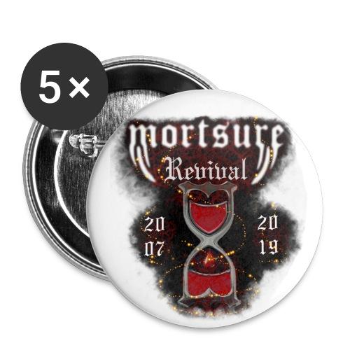 mortsure revival2 - Lot de 5 grands badges (56 mm)