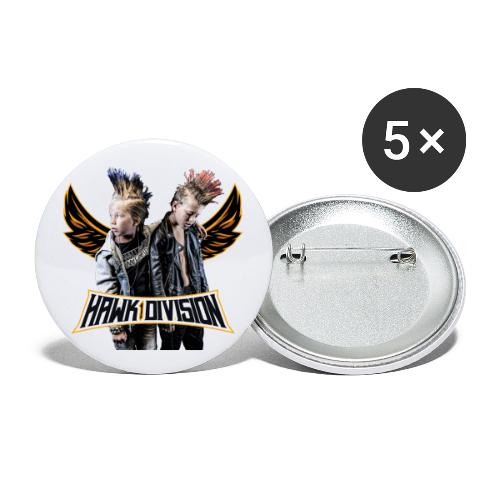 Hawk Division - Buttons large 2.2''/56 mm(5-pack)