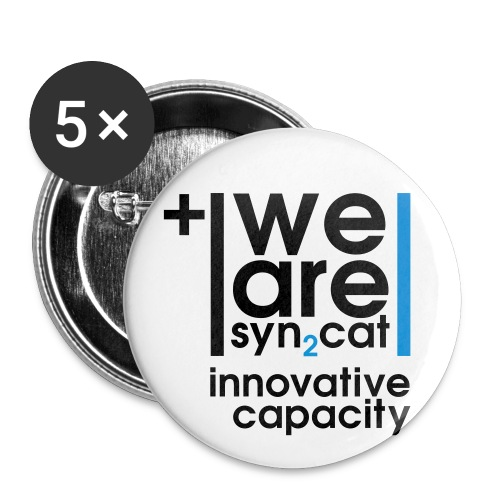 innovative capacity - Buttons large 2.2''/56 mm(5-pack)