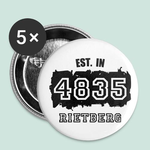 4835 Rietberg - Established - Buttons groß 56 mm (5er Pack)