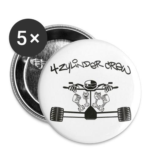 club4zr kopie - Buttons groß 56 mm (5er Pack)