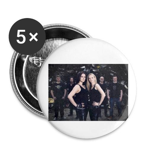 K.T. says No - Buttons groß 56 mm (5er Pack)