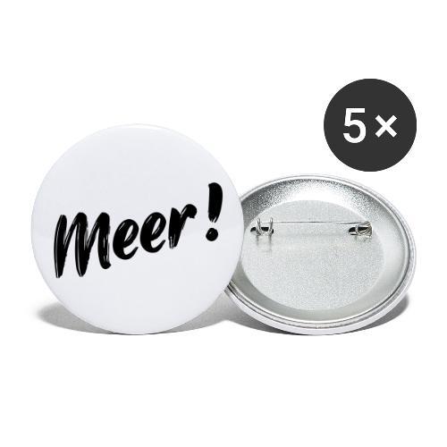 Meer - Buttons groß 56 mm (5er Pack)