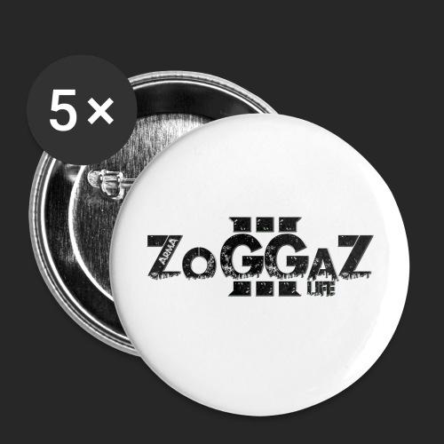 ZoggaZ Gruen png - Buttons groß 56 mm (5er Pack)