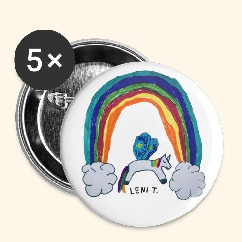 LeniT For Unicorns Only - Rintamerkit isot 56 mm (5kpl pakkauksessa)