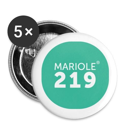 LOGO MARIOLE 300dpi png - Lot de 5 grands badges (56 mm)