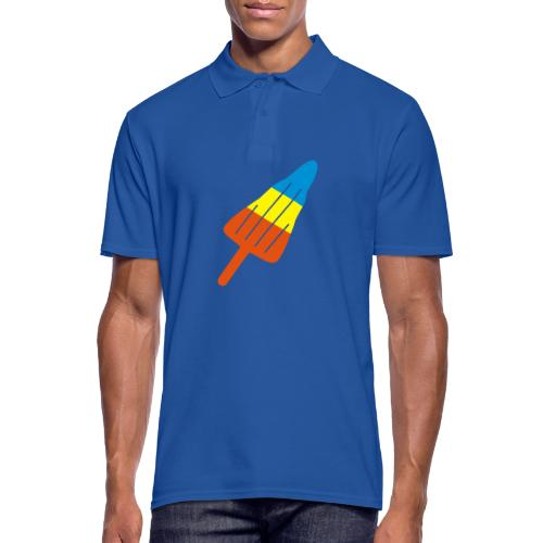 ZOOM ROCKET LOLLY: choose three different flavours - Men's Polo Shirt