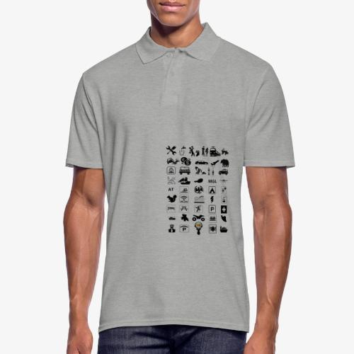 Where should I go now? - Männer Poloshirt
