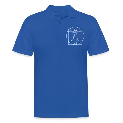 Vitruvianischer Reiter - Männer Poloshirt