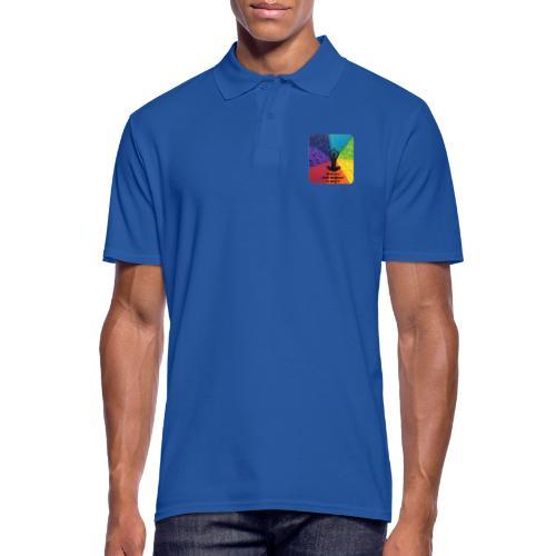 Mediation is my Workout - Männer Poloshirt