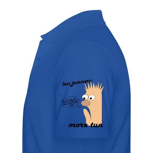 more tun - Männer Poloshirt