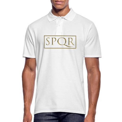 SPQR kolor (color) - Koszulka polo męska
