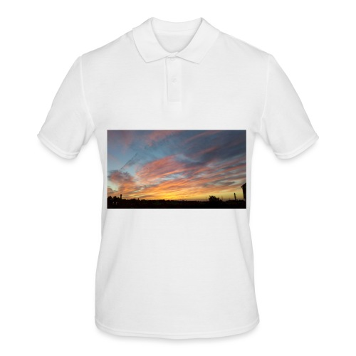 Red Sky At Night - Men's Polo Shirt