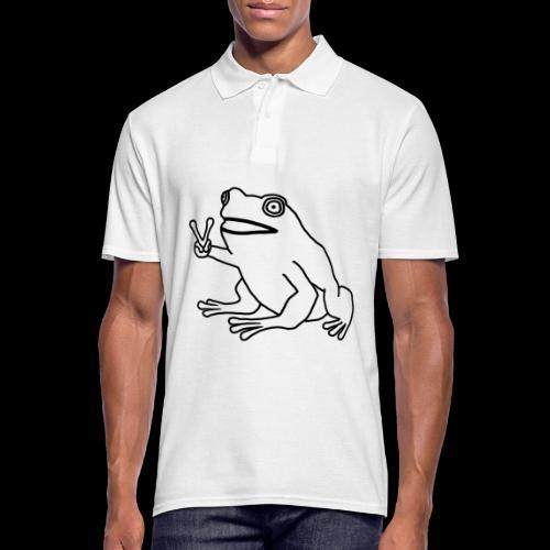 Funny Animal Frog Frosch - Männer Poloshirt