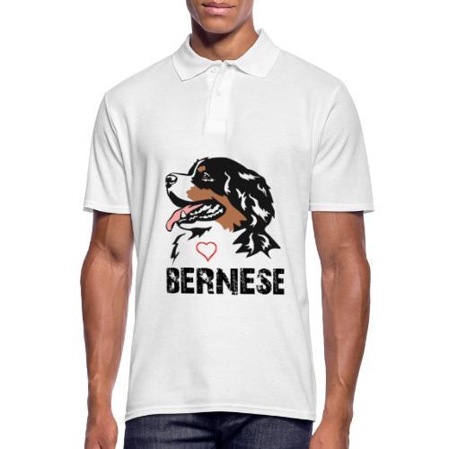 Bernese mountain dog - Mannen poloshirt