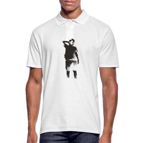illustration dario noire - Polo Homme