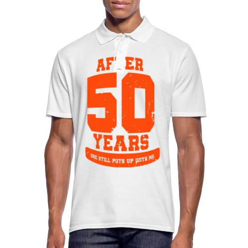 Ü50 Über 50 Jahre 50th - colorize - Männer Poloshirt