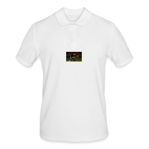 AwesomeSauce Minecraft 2 Swords - Men's Polo Shirt