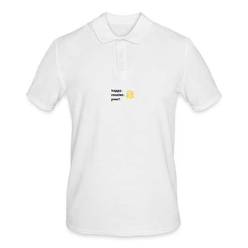 happy rooster year - Men's Polo Shirt