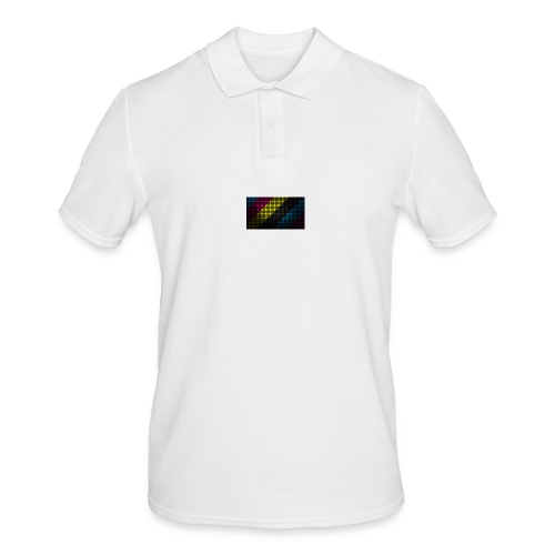 techno_dots_y_t_f-jpg - Men's Polo Shirt