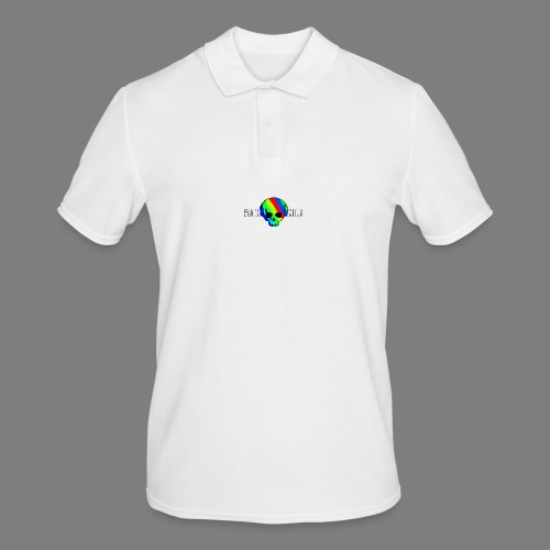 Colorful Skull Logo - Men's Polo Shirt