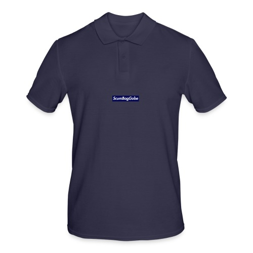 ScumBagGabe Blue XL Logo - Men's Polo Shirt