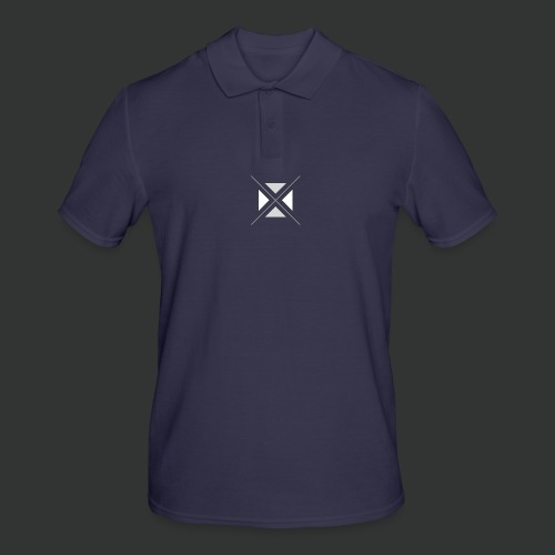 hipster triangles - Men's Polo Shirt