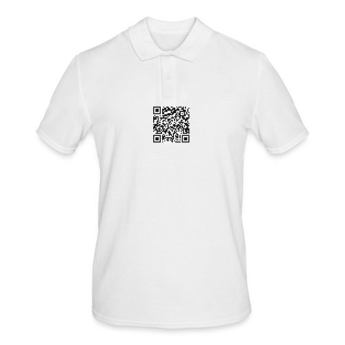 qr code pull - Polo Homme