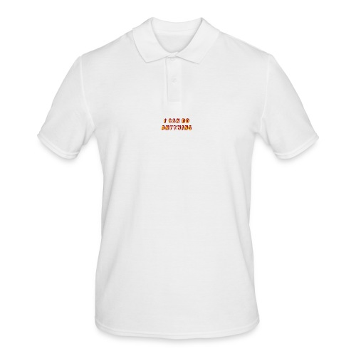 I can do anything - Men's Polo Shirt