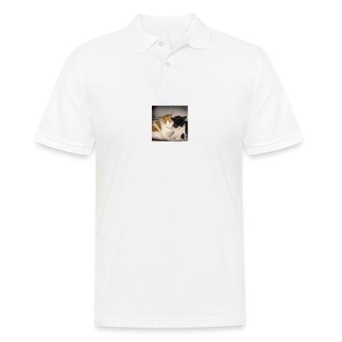 Schlafende Kätzchen - Männer Poloshirt