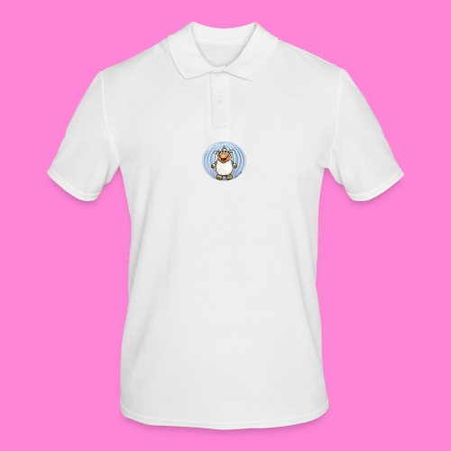 Halloween-sheep - Mannen poloshirt