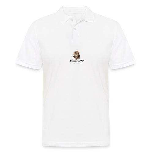Concede kitty - Poloskjorte for menn
