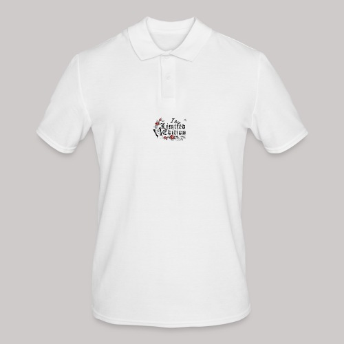simply wild limited Edition on white - Männer Poloshirt