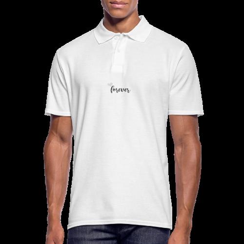 Forever Partnerlook grau - Männer Poloshirt