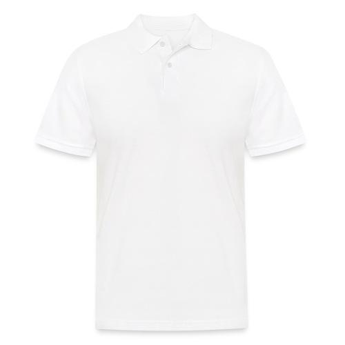 JV Guitars - logo blanc - Polo Homme