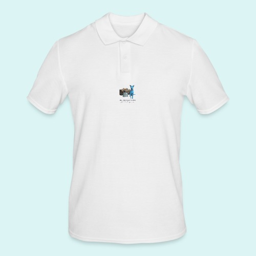 Laly Blue Big - Men's Polo Shirt