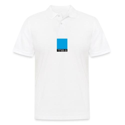Square Cyan - CMYK Collection - Männer Poloshirt