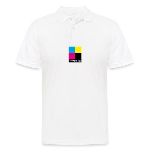 Square CMYK #2 - CMYK Collection - Männer Poloshirt