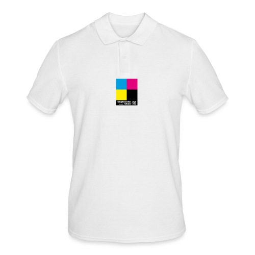 Square CMYK #1 - CMYK Collection - Männer Poloshirt