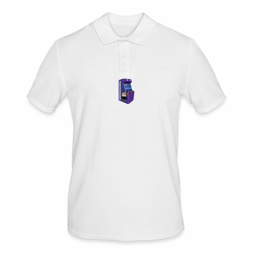 Game Booth Arcade Logo - Men's Polo Shirt