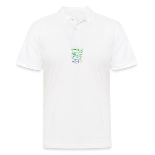 Herren er min hyrde - Poloskjorte for menn