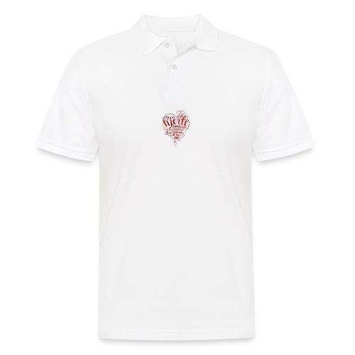 Bevar ditt hjerte - Poloskjorte for menn