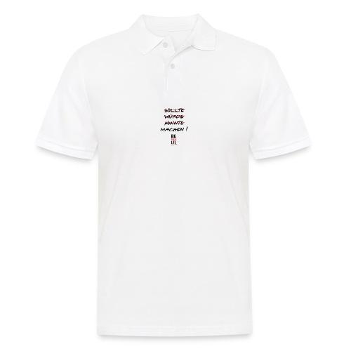 Sollte Würde Könnte Machen - Männer Poloshirt