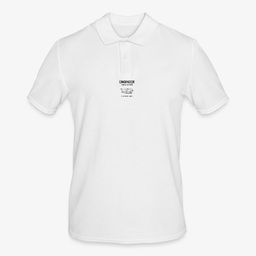 Engineer Def. 1 (Black) - Polo Homme