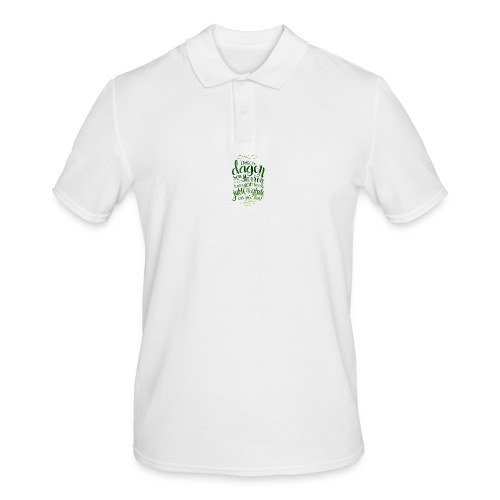 Dette er dagen - Poloskjorte for menn