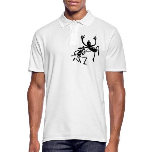 Wurst und Kauboi - Männer Poloshirt
