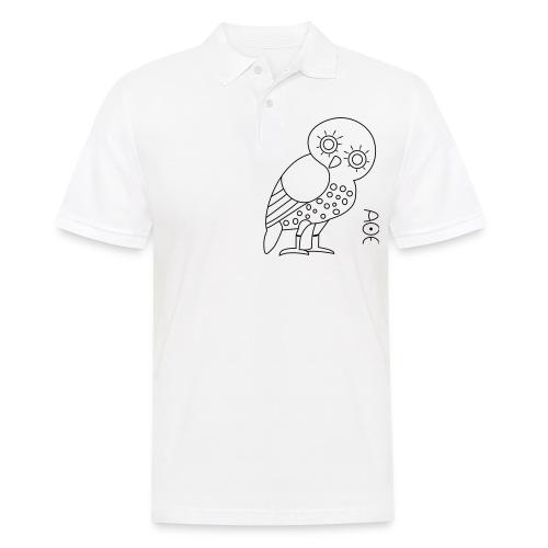Owl of Athena - Men's Polo Shirt